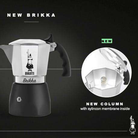 Bialetti Moka Pot New Brikka 4 Cup