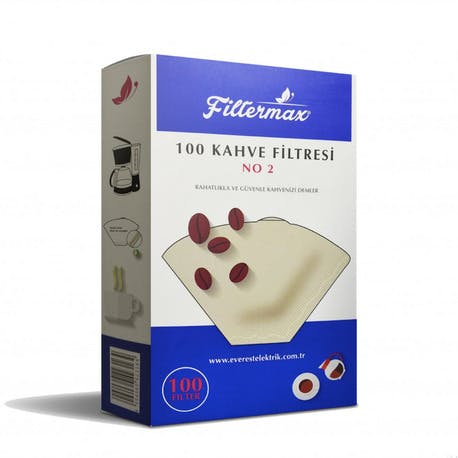 Filtermax Beyaz Filtre Kahve Kağıdı 1x2