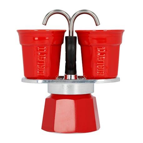 Bialetti Seti Mini 2 Cup Kırmızı