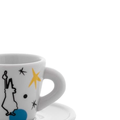 Bialetti Porselen Espresso Bardağı 4'lü Set