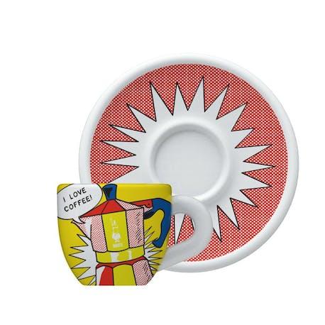 Bialetti Porselen Cappuccino Mug Lichtenstein