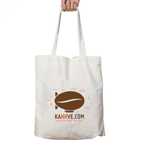 KahhveCom Organik Bez Çanta