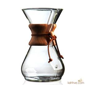 Chemex Ahşap Tutacaklı 8 Cup