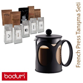 Bodum French Press Başlangıç Seti