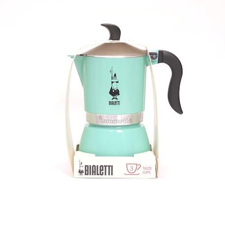 Bialetti Moka Pot Fiammetta Artic Lights 3 Cup