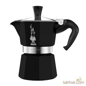 Moka Pot Siyah 3 Cup