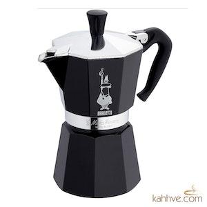 Moka Pot Siyah 6 Cup