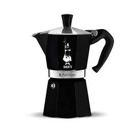 Bialetti Moka Pot Siyah 6 Cup