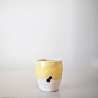 Coffeerem El Yapımı Sarı Kupa