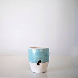 Coffeerem El Yapımı Mavi Kupa