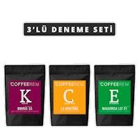 Coffeerem 3'lü Deneme Seti 3x100g