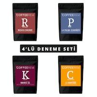 Coffeerem 4'lü Deneme Seti 4x100g