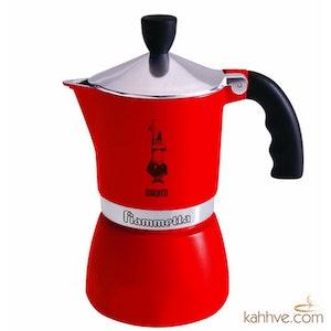 Moka Pot Kırmızı 3 Cup