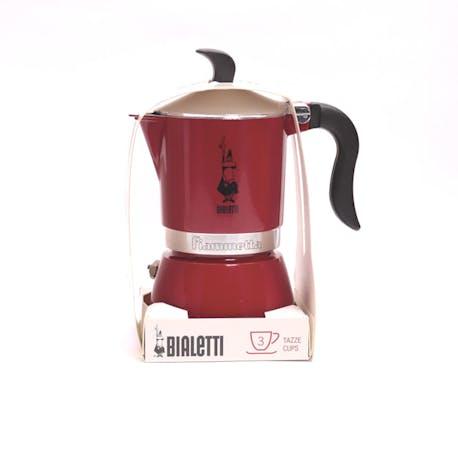 Bialetti Moka Pot Fiammetta Chily Pepper 3 Cup