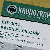 Kronotrop Etiyopya Kayon MT Organik