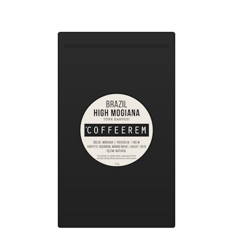 Coffeerem Brazil High Mogiana Türk Kahvesi 150G