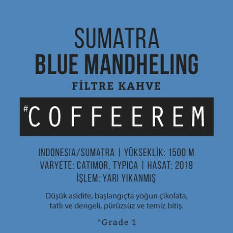 Coffeerem Indonesia Sumatra Orang Utan G1 200G