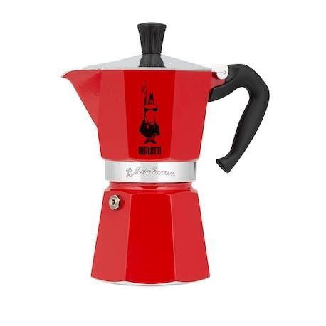 Bialetti Moka Pot Express Kırmızı 6 Cup