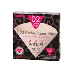 Hario V60 02 40'lı Filtre Kağıdı